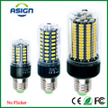 LED Corn Bulb E27 Real watt 3.5-15w SMD 5736 E27 Led Lamp Light 85-265V 28 40 72 108 132 156Leds Corn Light Lampada No Flicker
