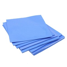 8 Pcs IC Card Heatsink Cooling Pads 100*100mm 0.5mm 1mm 1.5mm 2mm 2.5mm 3mm 4mm 5mm Combination Conductive Thermal Silicone Pad