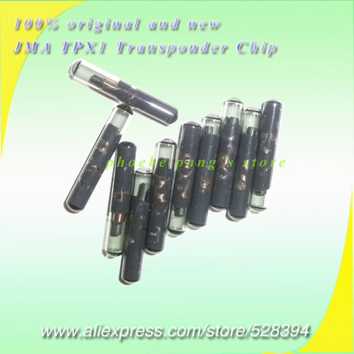 Одежда высшего качества Ключи транспондер чипсы оригинальный и новый Jam TPX1 Cloner Чип