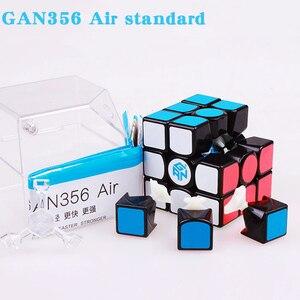 Image 4 - GAN 356 Air SM X 3x3x3 puzzle magnetyczne magiczna kostka profesjonalne gan356 x kostka magico gan354 M magnesy kostka gan 356 R S