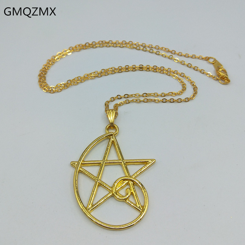 Hot Fashion Fibonacci Color golden ratio Pendant, Fibonacci sequence necklace, wearable math, simple five-pointed star necklace