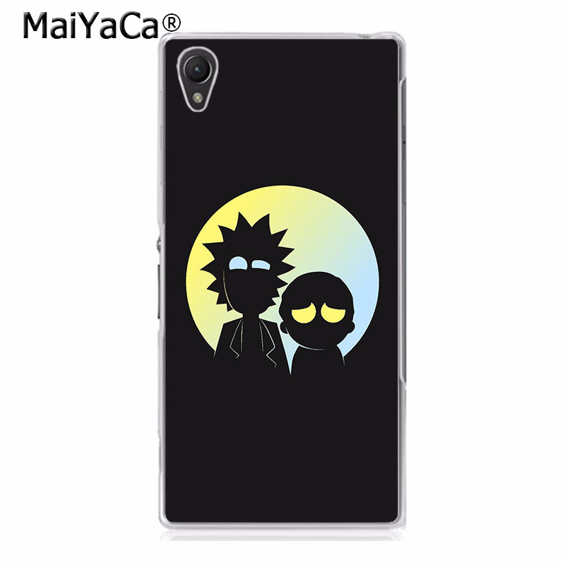 MaiYaCa Cute Cartoon rick and morty Colorful Phone Accessories Case for Sony Z2 Z3 Z4 Z5 Z5c for LG G3 G4 G5 Mobile Cover
