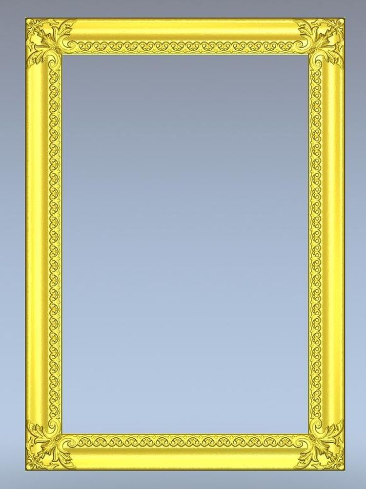 3d Model Relief For Cnc In STL File Format Frame--21