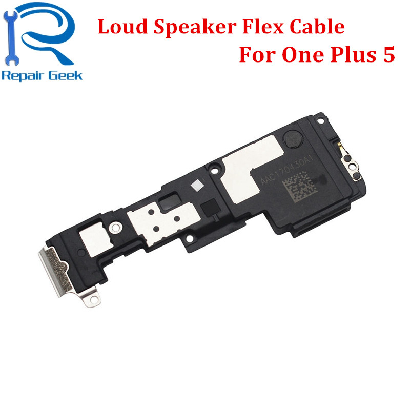 New For One Plus 5 Loud Speaker Buzzer Ringer Sound Flex Cable Replacement For Oneplus 1+5 Ringtone Flex Cable Repair Parts