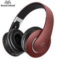 Sound intone p1 chocante bass auriculares auriculares bluetooth versión 4.0 auriculares inalámbricos con micrófono de manos libres de llamadas