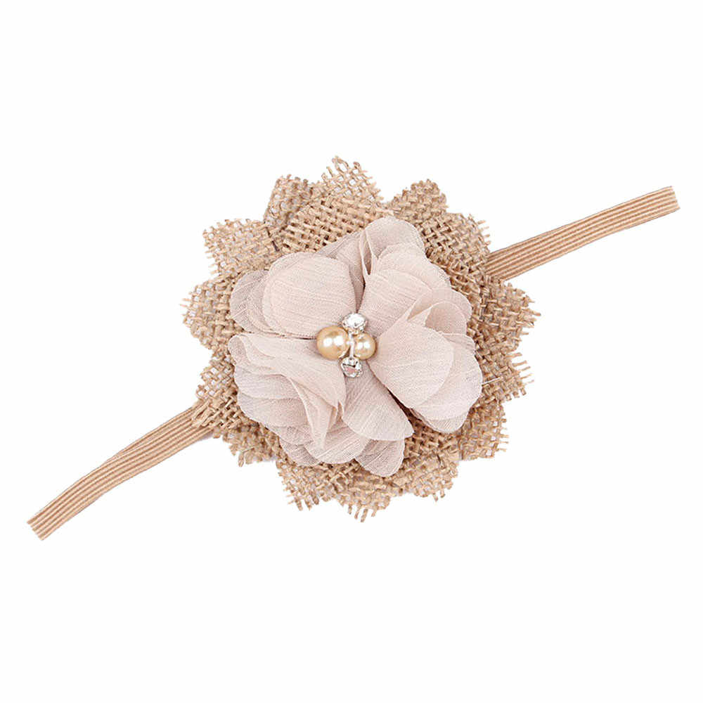 Kids Girl Baby Toddler Flower Headband Hair Band Accessories Headwear For Infant hair accessories diademas pelo