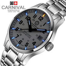 Tritium luminous military dive sport waterproof200M quartz men watch full steel luxury brand light leather strap watches saphire