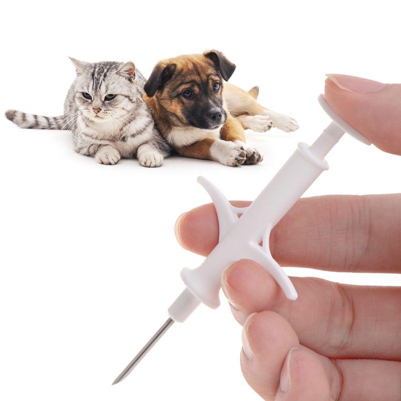 Pet ID Microchip Syringe 1.4x8mm ISO11784/5 FDX-B HDX Animal Tag Injector IP67