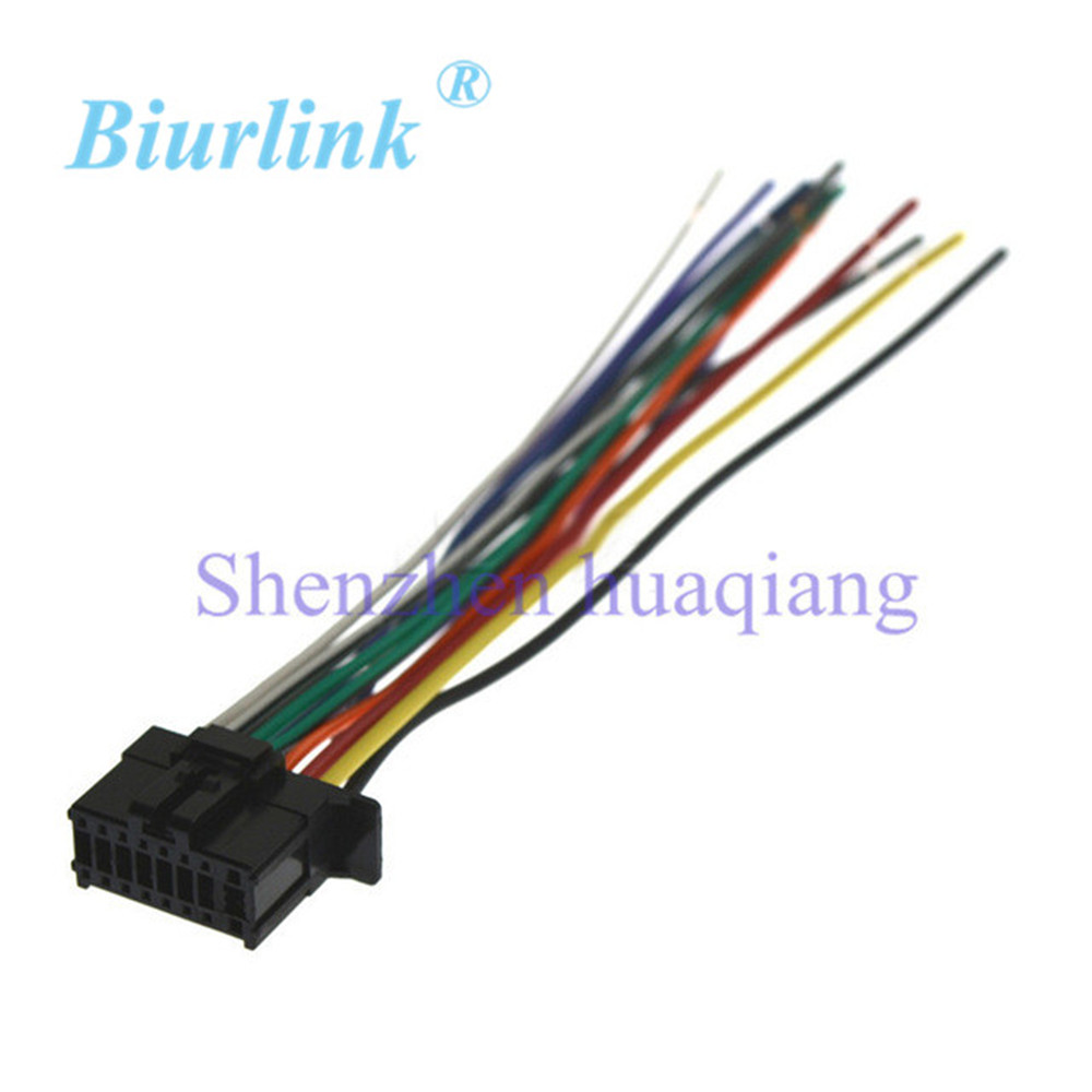 Car ISO Harness Stereo Wire Adapter Wiring Connector Cable for Pioneer 2350 car iso harness stereo wire adapter wiring connector cable for pioneer deh 2300 wiring diagram at alyssarenee.co