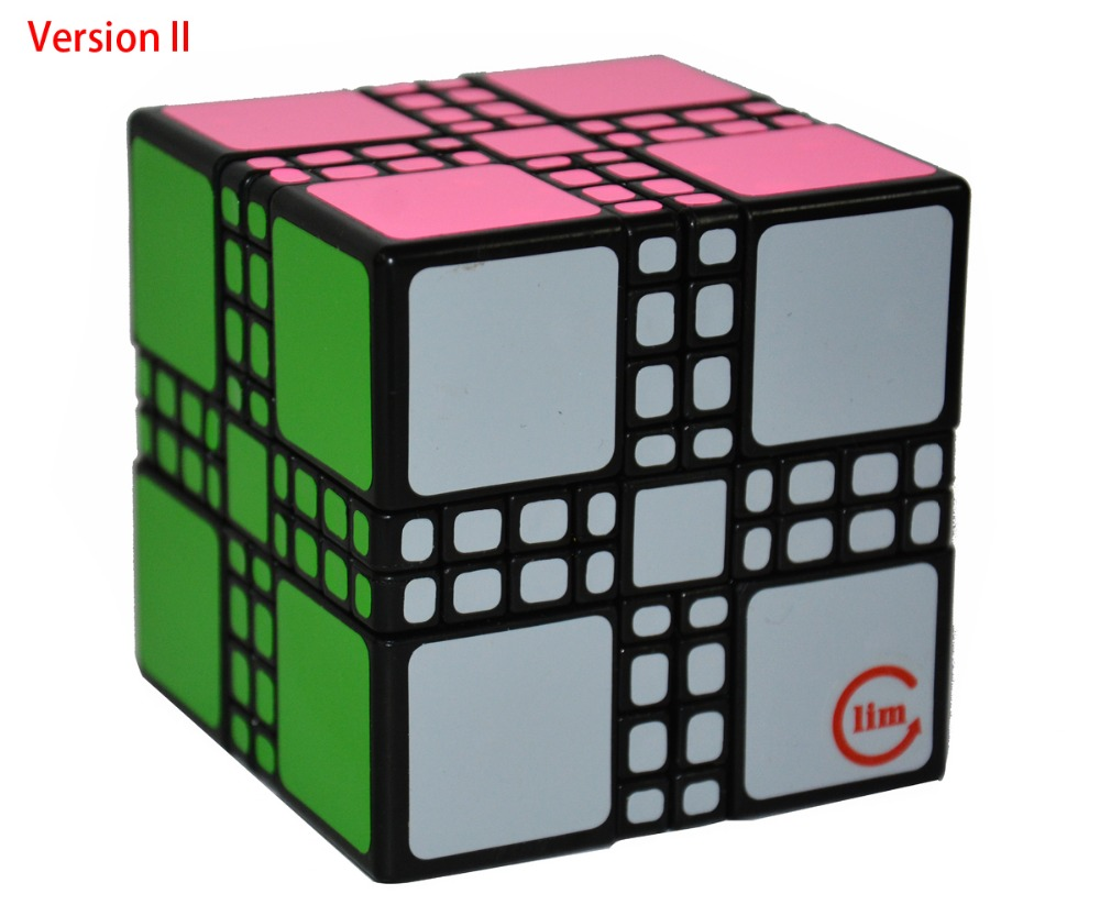 Brand New Fangshi Limcube Master Mixup Cube Version II/IV Magic Cube Puzzle Cubes Educational Toy Special Toys funs fangshi limcube dreidel 3x3x3 magic cube puzzle black and white and pink learning
