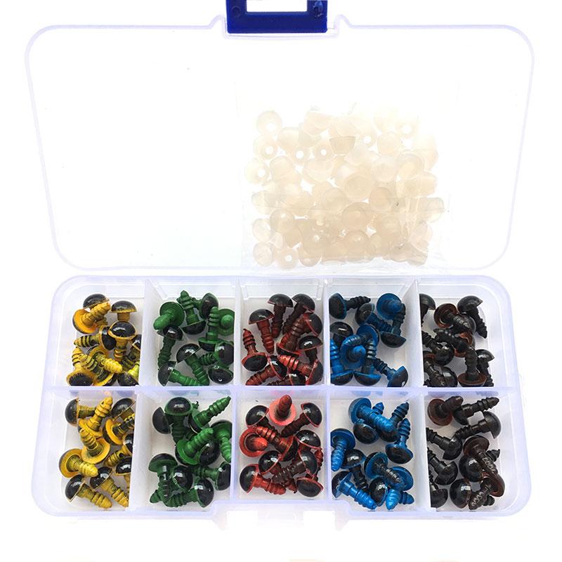 Wholesale 100 Pcs/50 Pairs 5 Colors-Mix
