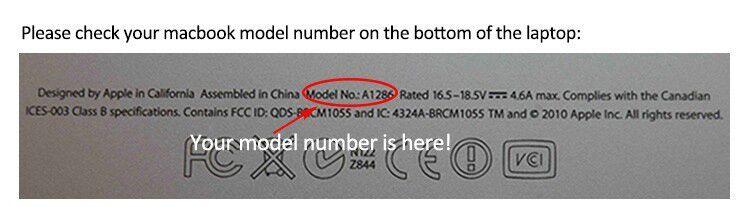find you laptop model
