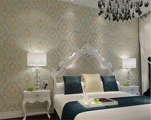 beibehang papel de parede Atmosphere Luxury Continental Bronze Damascus 3d Wallpaper Restaurant Walkway papier peint