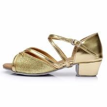 Low Heels Dancing Shoes Ballroom Salsa Tango Latin Unique Cross Band Dancing Shoes for Women