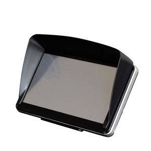 Universal Screen Visor Hood Solid Reliable Sun Shade Lens Protector Shield for 5/7inch GPS Navigation(China)
