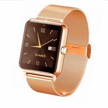 Smart Watch Luxury Men Women Bluetooth Wrist Smartwatch Z50 Support SIM/TF Card Wristwatch For Apple Android Phone DZ T50 09