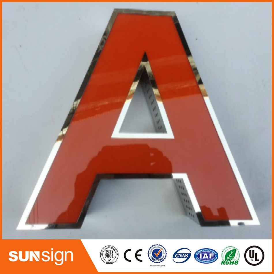 Wholesale Stainless Steel Signs Outdoor Illuminated Signs