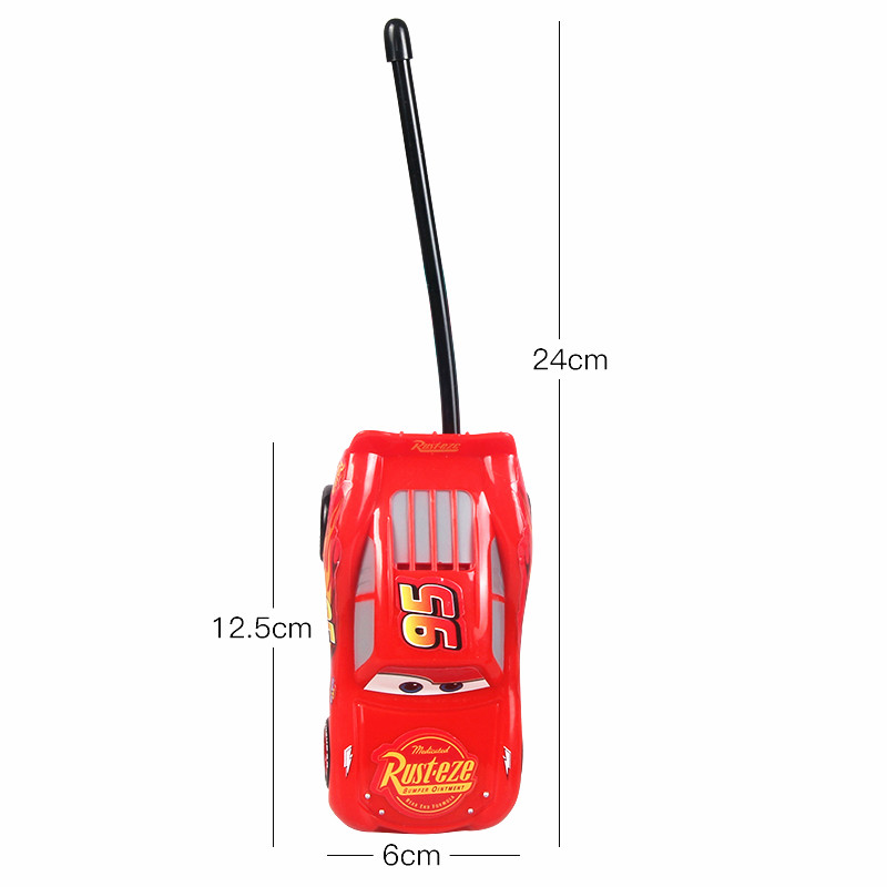 Disney Lightening McQueen Electronic Walkie Talkies Intercom Children Toys Xmas Birthday Gifts Pixar Cars 3 For Boys Kids Games In Toy From