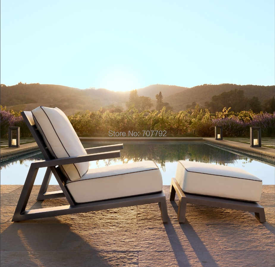 Modern Outdoor Lawn And Garden Aluminum Patio Lounge Chair Furniture Aliexpress