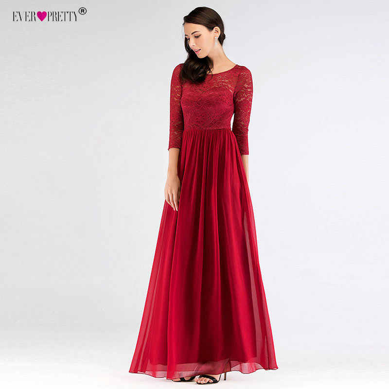 Ever Pretty Robe de Soiree Robe de ceremonie Maxi Elegante