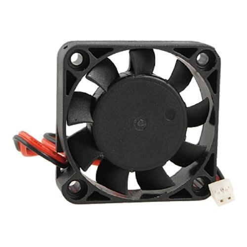 GTFS-Hot New Black Plastic 40mm x 40mm x 10mm 4010 9 Blade Brushless DC 12V Cooling Fan