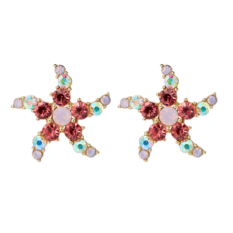 Acrylic Simulated Pearl Earings Fashion Jewelry 2019 Star Shape Shinny Ladies Gift Accessories PartyStud Earrings For Women in Stud Earrings from Jewelry Accessories