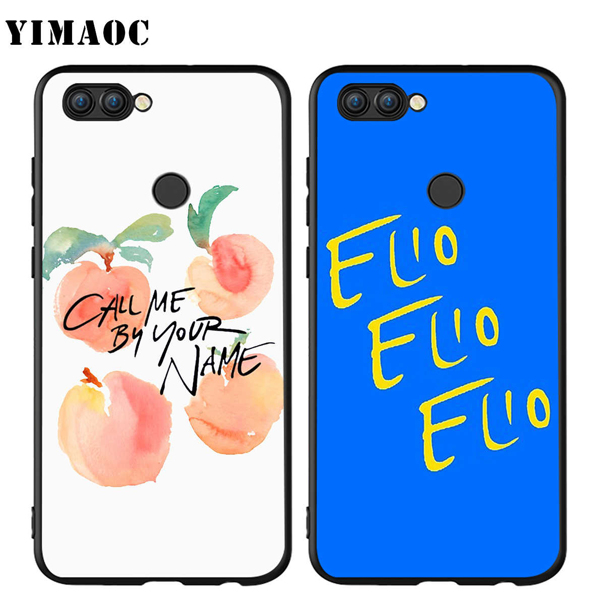 YIMAOC Call Me โดยของคุณชื่อสำหรับ HUAWEI Mate 10 P8 P9 P10 P20 P30 P Smart Lite Pro mini 2017