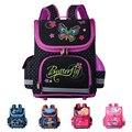 New 2016 Orthopedic Children School Bags For Girls School Backpack Kids Satchel Butterfly Boys Backpacks Child Mochilas Infantis
