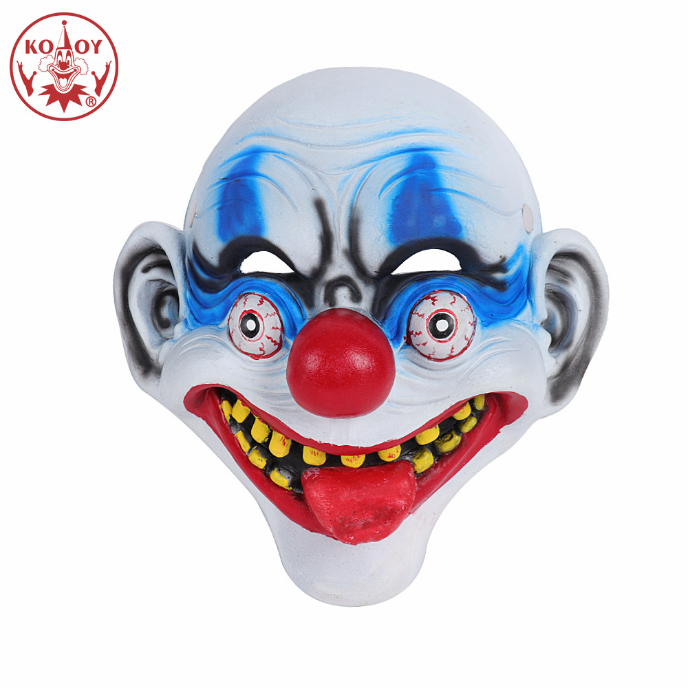 Halloween Funny clown Mask Adult coslay hallowen coutume For women men Scary joker clown latex masks horror helmets Unisex