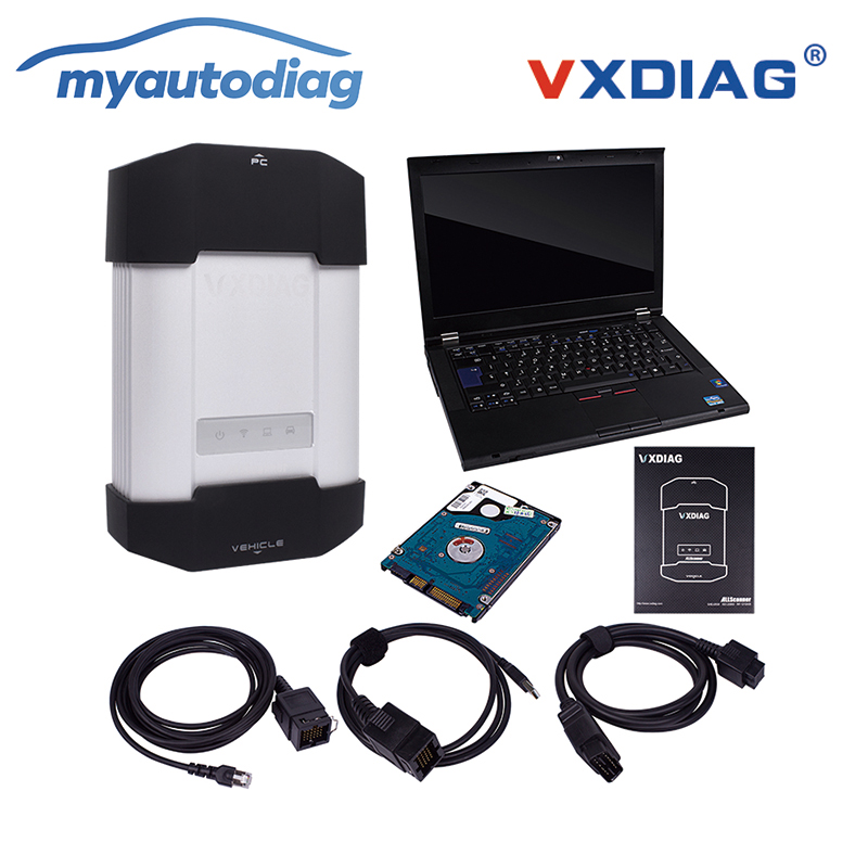 Promozione Vxdiag Multidiag Strumento di Diagnostica Auto per Benz Stessa Funzione Della Stella di Mb per C4 con Il Computer Portatile T420 (I5/ 4G) più Nuovo Software