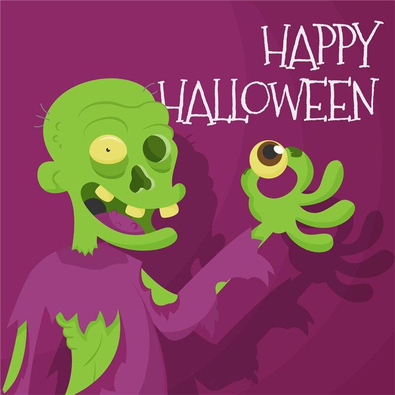 YaMinSanNiO/Halloween Decoration/Transparent Clear Stamps for DIY Scrapbooking/Card Making/Halloween Zombie FUN Supplies