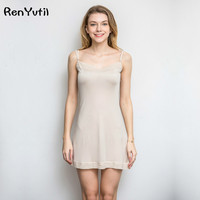 RenYvtil Silk Nightgowns Women Home Dress Sexy Nightgowns Sleep Wear For Women Sleep Dress Women Ropa