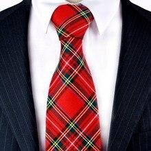 12786e1830b71 W kratę szkocką kratę czerwony Crimson szary szary zielony żółty niebieski  męskie krawaty krawaty darmowa wysyłka garnitur preze.