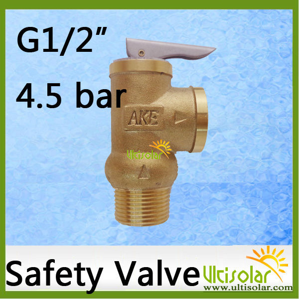 4.5Bar Opening Pressure Relief Valve YA-15 1/2 AKE 0.45Mpa Ultifittings COM 10bar opening pressure safety valve ya 20 3 4 ake 1mpa ultifittings com