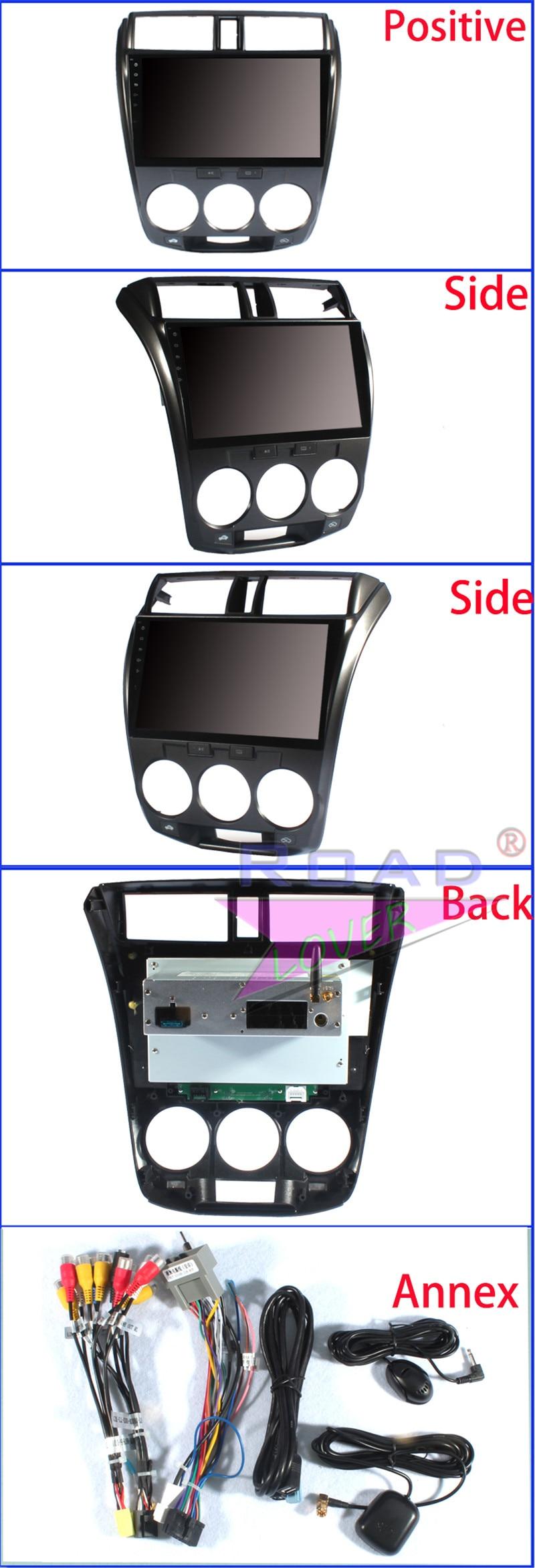 magnitol 2 din For Honda City 2012