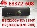Desbloqueado huawei e8372h-608 4g 3g wifi usb módem 3g 4g usb stick E8372 lte 3g 4G Wifi router 4G mifi Modem PK E8278 e8377 w800z