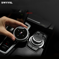 Multimedia Button Stickers For E90 E92 F16 E84 f30 F34 f10 F20 F25 F26 F48 F07 BMW Car Knob Frame cover Modification автотовары