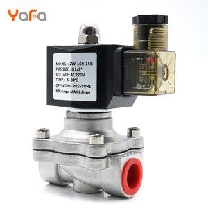 Image 5 - AC110V 220V 380V 24V DC12V 24V ,Normally closed, solenoid valve, 304 stainless steel, water valves,Moisture proof  diaphragm