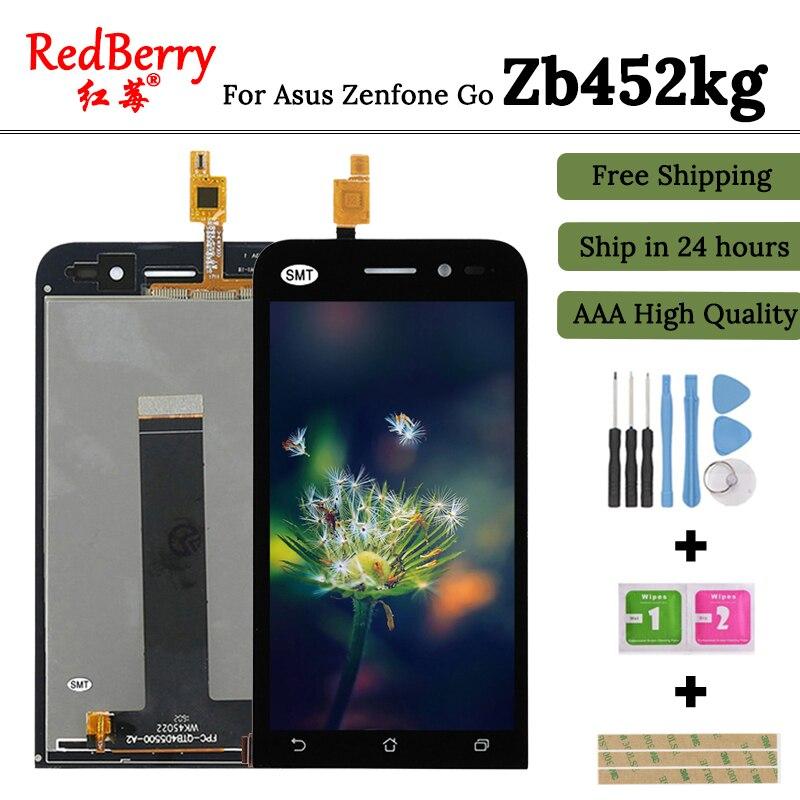 Redberry Pour Asus Zenfone Aller Zb452kg Écran lcd avec Écran Tactile Digitizer Assemblée Livraison Gratuite