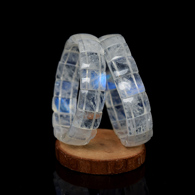 Blue Moonstone Bracelet Female Moonstone Bracelet Crystal Bracelet Gift to Send Girlfriends opk ds967 bracelet blue