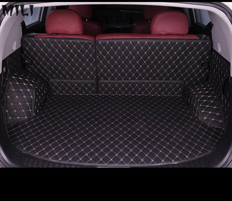 Custom car trunk mat for Ford all models Explorer Edge Everest Taurus kuga Ecosport ESCORT focus fiesta car styling accessoriesCustom car trunk mat for Ford all models Explorer Edge Everest Taurus kuga Ecosport ESCORT focus fiesta car styling accessories