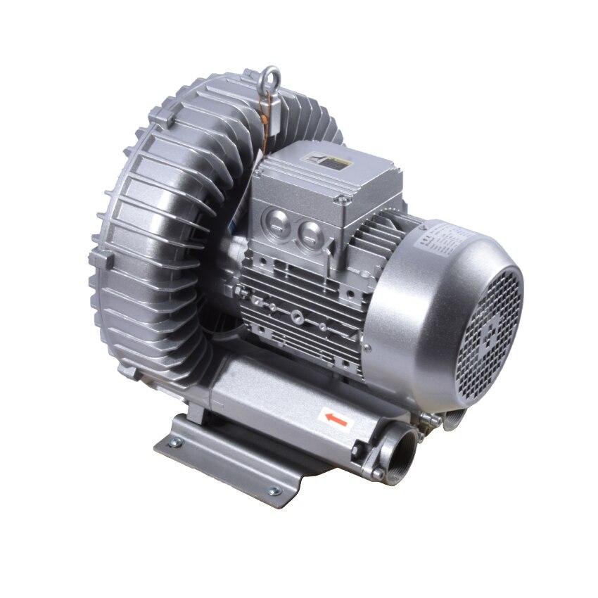 High Pressure Air Blower 2RB710-7AH26 Air Pump Vortex Fan Industrial Vacuum Regenerative Blower 3KW/3.45KW 220v/380v 50Hz/60Hz
