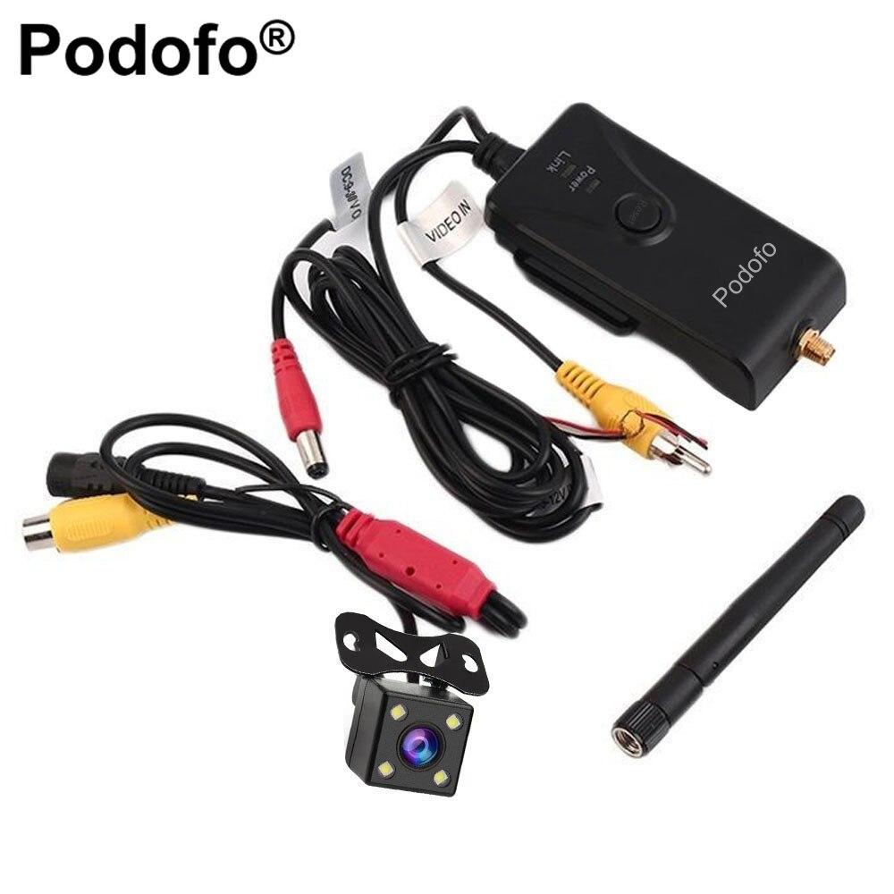 Podofo 903 W 2.4G 30fps En Temps Réel Vidéo WIFI Émetteur pour FPV Photographie Aérienne Caméra De Recul De Voiture AV/DC/Interface aérienne