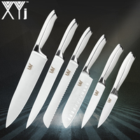 Cooking Kitchen Knives XYj High Grade Stainless Steel Knife Hot Style 8, 8, 8, 7, 5, 3.5 inch Quality Kitchen Knife 6 Piece Set