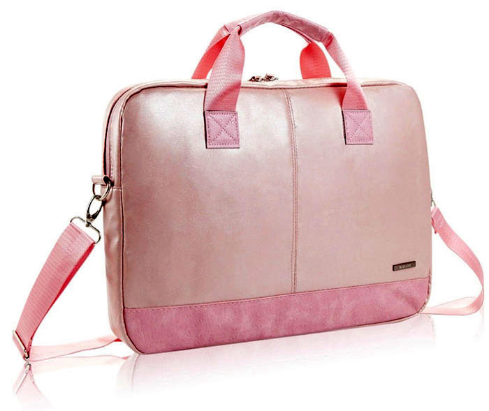 Hot Pink Laptop Bag Slim Case For 15 6 Inch Fashion Women Messenger Bags Brand Style In Cases From Computer