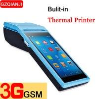 PDA Android 6,0 мобильный ручной pos терминал POS Термальность принтер 58 мм Беспроводной Bluetooth сканер штрих кодов 1D 2D wi fi PDA