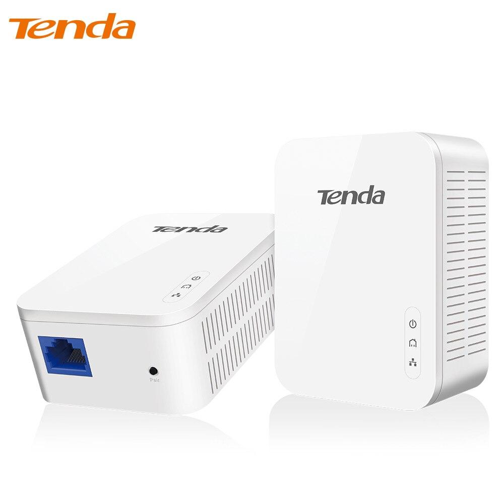 Tenda PH3 1000 Mbps Powerline-netzwerkadapter, AV1000 Ethernet PLC Adapter, 1 Paar Router Partner, IPTV, Homeplug AV2, EU/Us-stecker