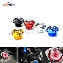 M20 2 5 motorcycle CNC Aluminum engine oil cup FOR honda cbr 600 f4i f4 f3