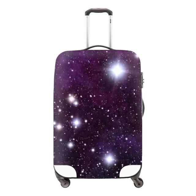 Dispalang пространство вселенной galaxy star защитная камера крышка для женщин водонепроницаемый тележка чехол пользовательские чемодан крышка