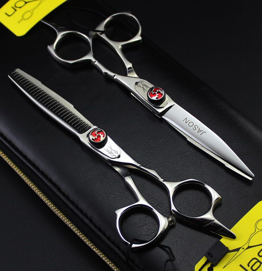 55 Inch Profesional Gunting Rambut Set Kualitas Tinggi Memotong Lurus Penipisan Tukang Cukur Shears Di Dari